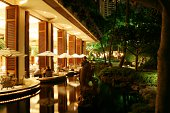 View of a Waikiki Resort Hotel.  See other photos in my portfolio of