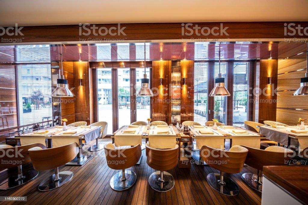 Luxury Restaurant Interior Stock Photo Download Image Now Istock