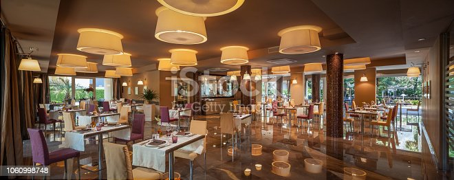 Luxury Restaurant Room in a Hotel