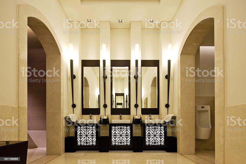 luxury Restroom royalty-free stock photo