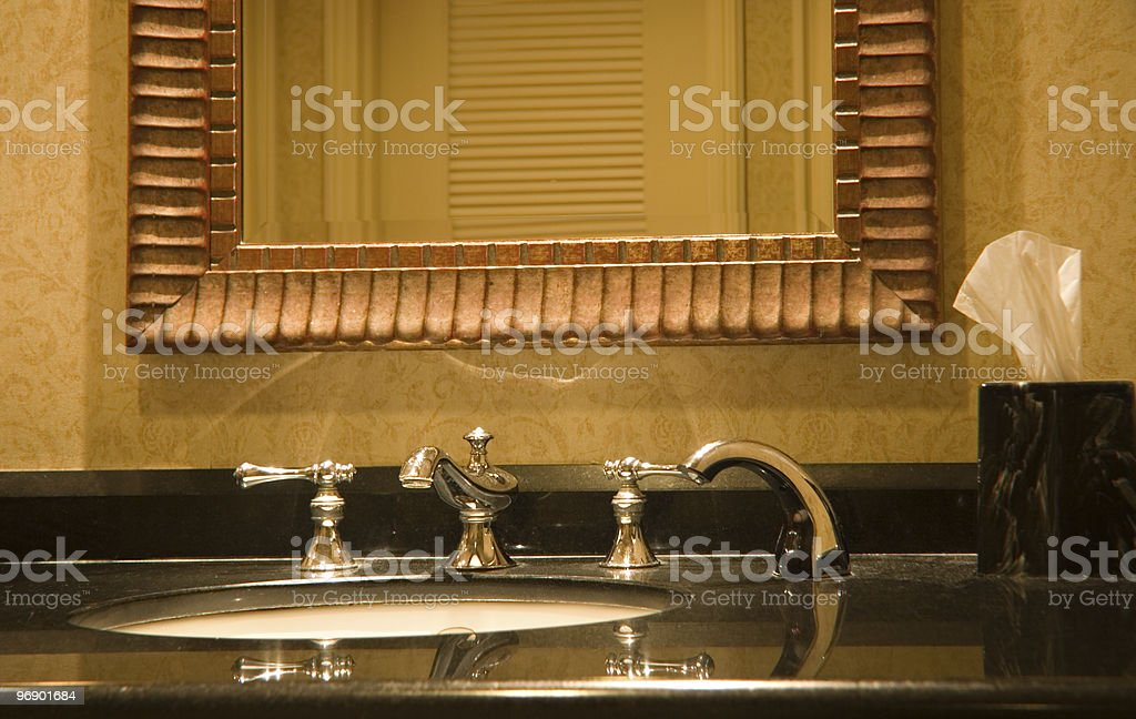 Luxury Restroom royalty-free stock photo