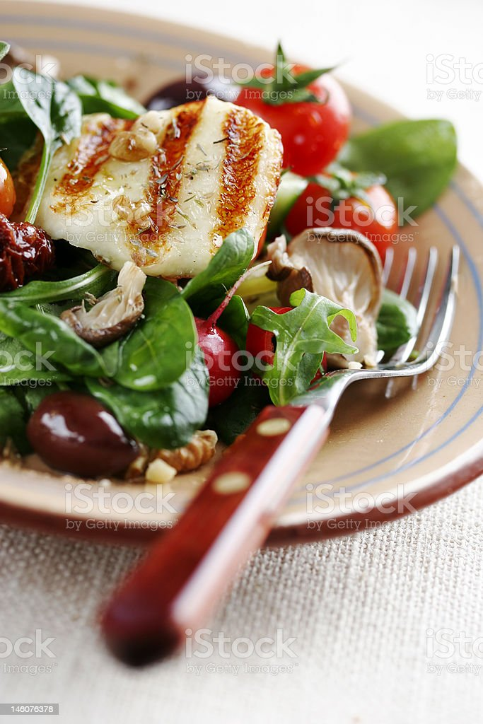 salad de luxe royalty-free stock photo