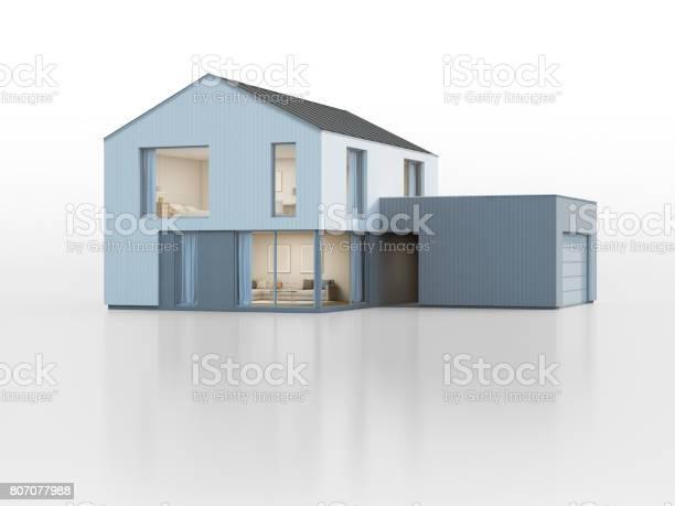 Luxury scandinavian house with garage in modern design new home for picture id807077988?b=1&k=6&m=807077988&s=612x612&h=rkznbiq0 3cy7z5gkpjk94pptqhtnkokgotbtppjzqa=