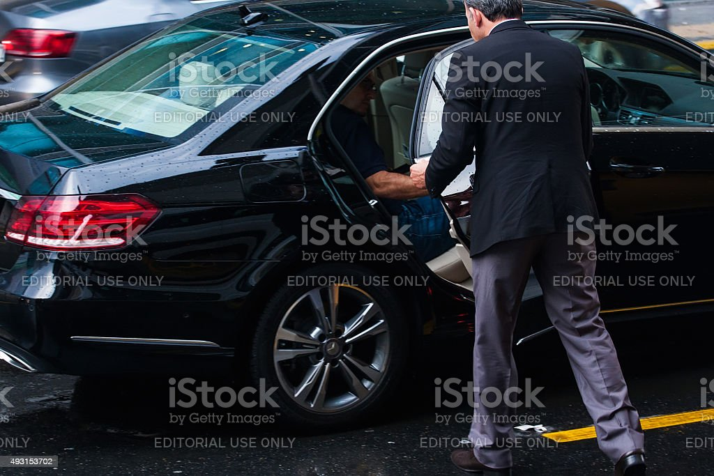 luxury service stock photo