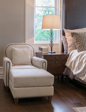 Luxury Sofa In Classic Style Bedroom Interior Stock Photo - Download Image  Now