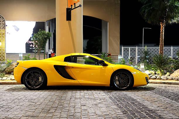 Von Luxus und sport Auto auf Walk at Jumeirah Beach Residence – Foto