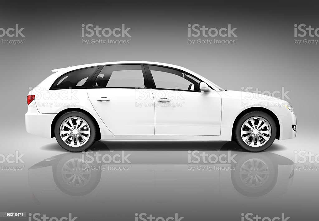 Luxury SUV stock photo