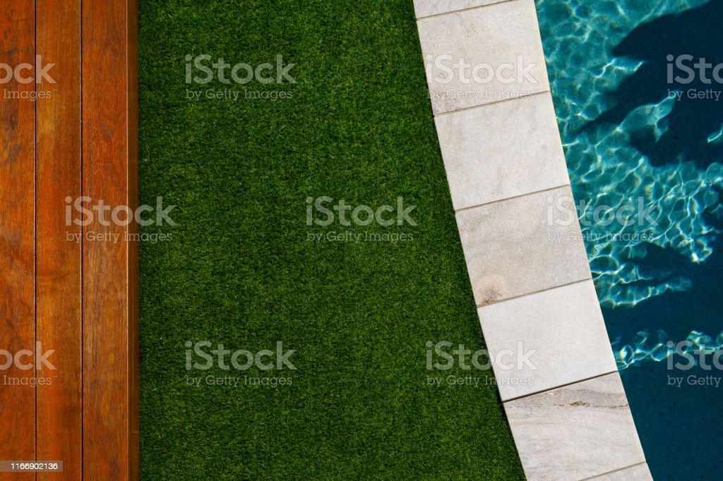 Luxus-Schwimmbad Detail - Lizenzfrei Architektur Stock-Foto