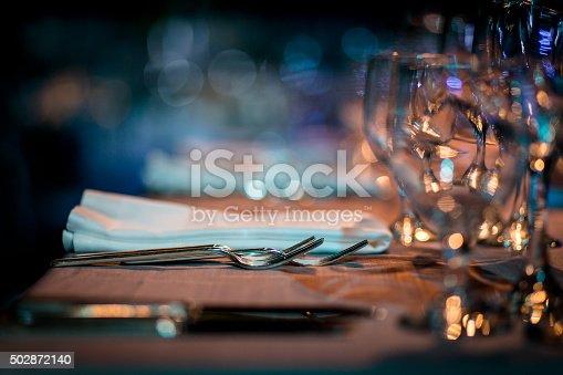 Luxury Table setting.