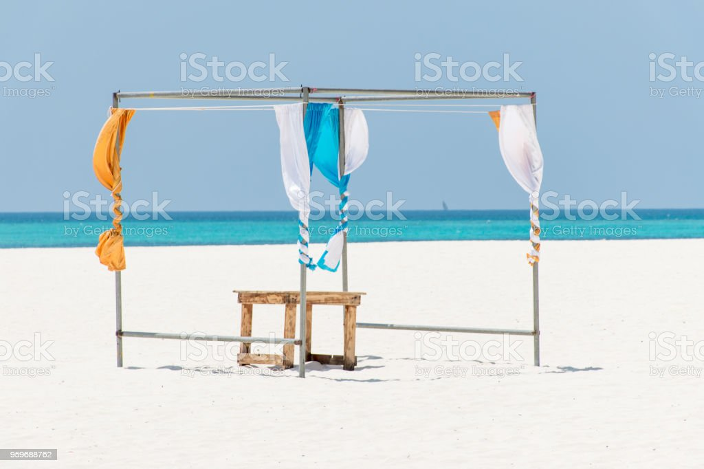 Luxury Temporary Pavilion And Its Curtain And Seat Are Set Outside