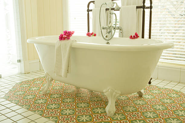 Luxury Tub stock photo