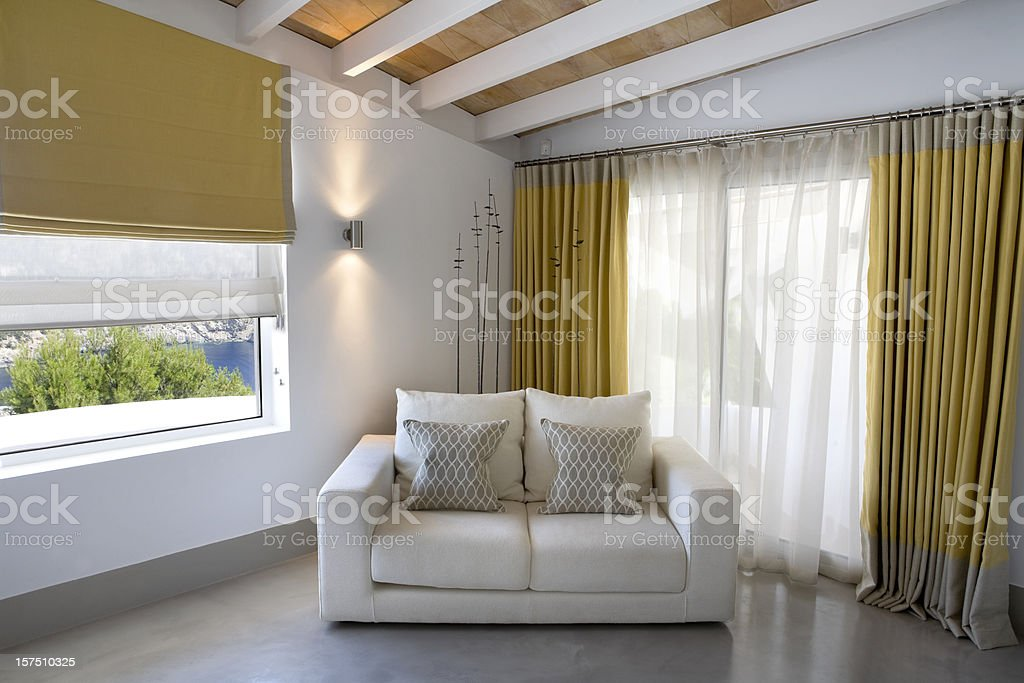 Luxury Villa Interior Bedroom Decor Stock Photo & More Pictures of ...