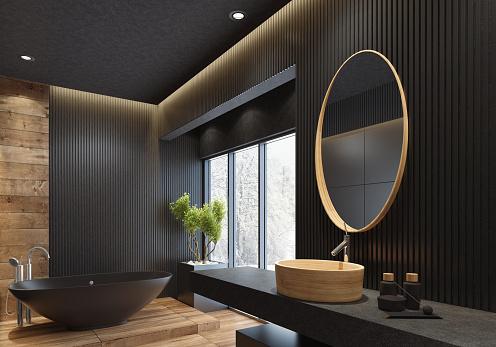 Minimalist Mirror Floor