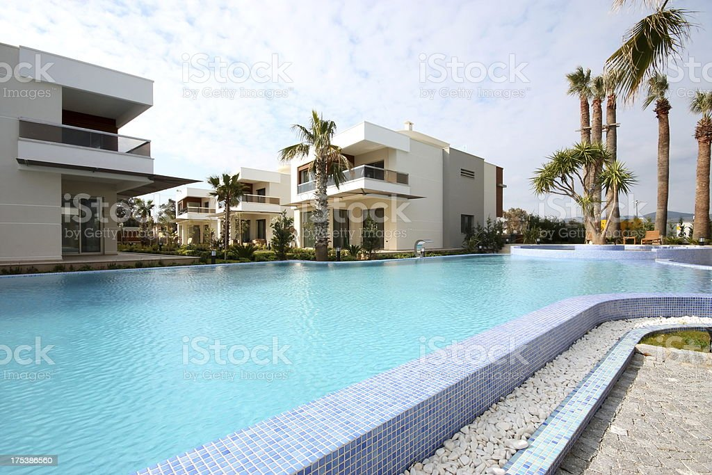 Beautiful house with a swimming pool and garden.