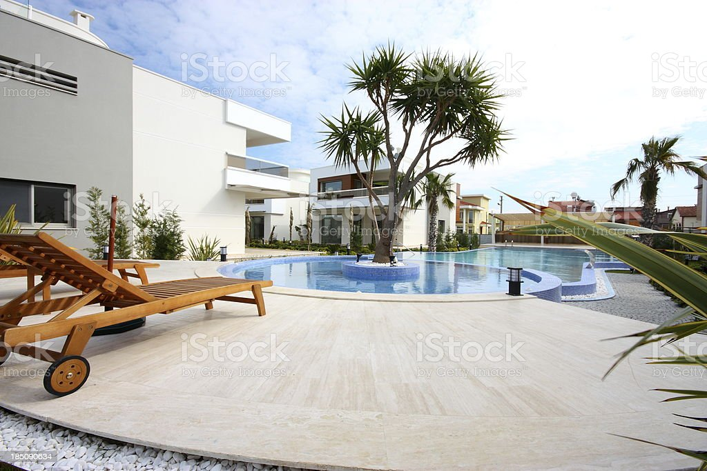 Villa de lujo - foto de stock