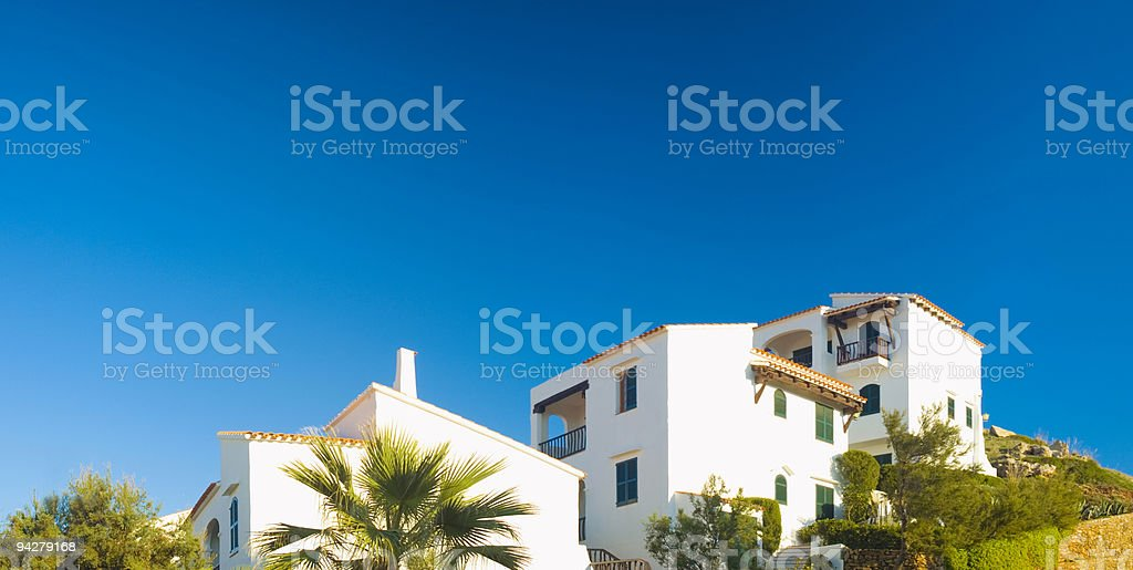 Luxury Villas stock photo