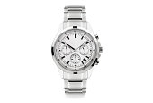 istock Luxury watch isolated on white background. With clipping path for artwork or design. White. 1193931855