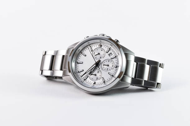 Luxury watch stock photo
