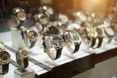 istock Luxury Watches at showcase 973117190