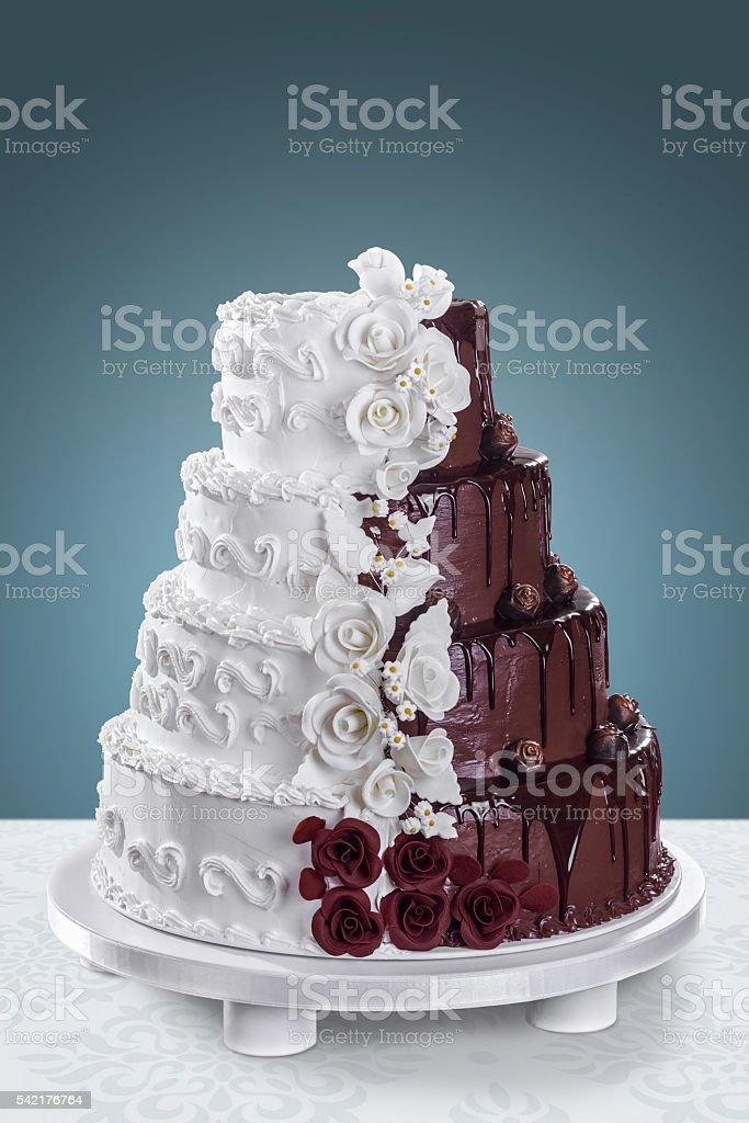 Luxury Wedding Cake stock photo