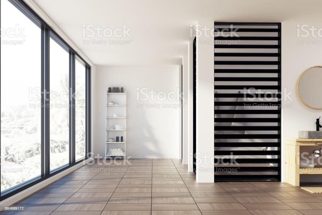 Photo libre de droit de Luxe Noir Et Blanc Salle De Bain ...
