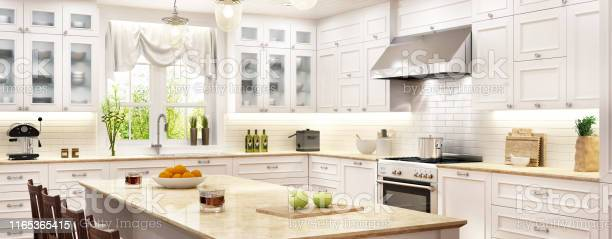 Luxury white kitchen with kitchen island picture id1165365415?b=1&k=6&m=1165365415&s=612x612&h=9clhhyihfx udbbeed8t4h47rj0r79dxgjttssqnwwi=