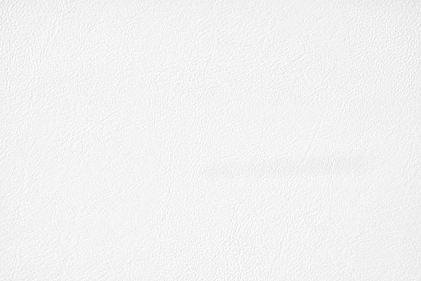 luxury white leather texture background - couro imagens e fotografias de stock