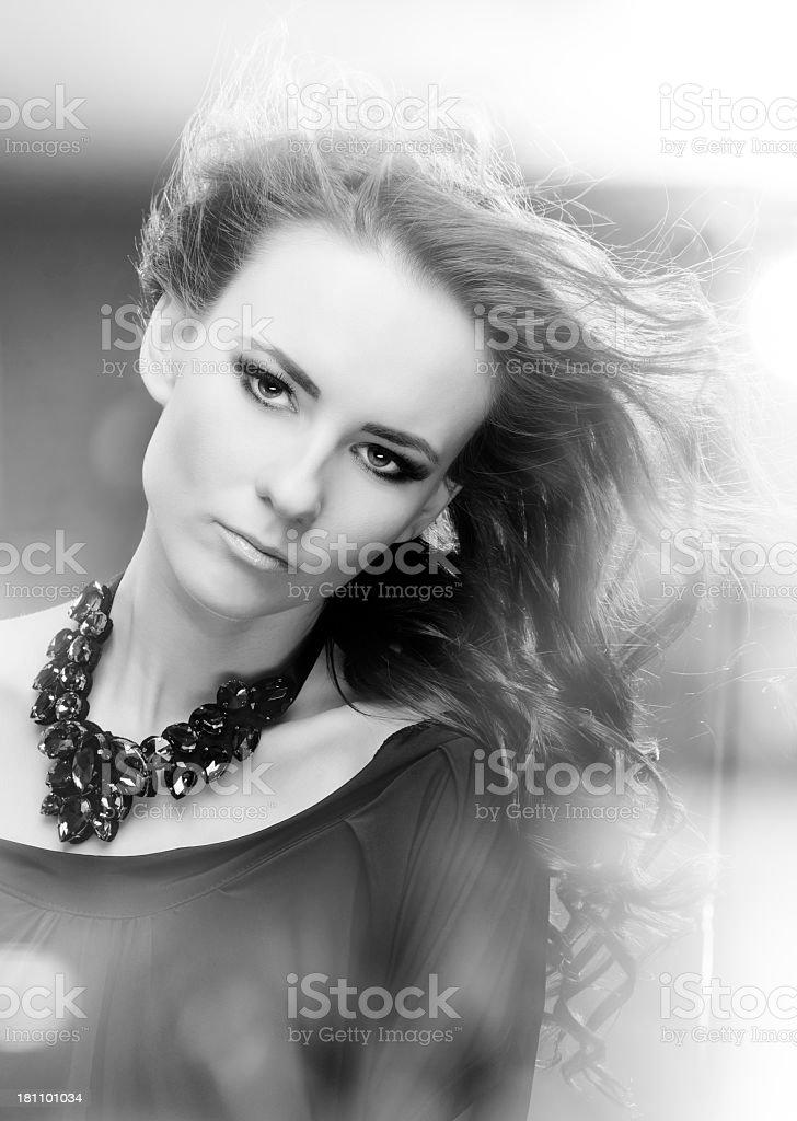 luxury woman royalty-free stock photo