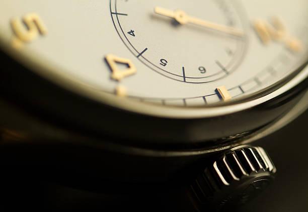 Luxury Wristwatch Macro shot of a beautiful luxury wristwatch luxury watch stock pictures, royalty-free photos & images