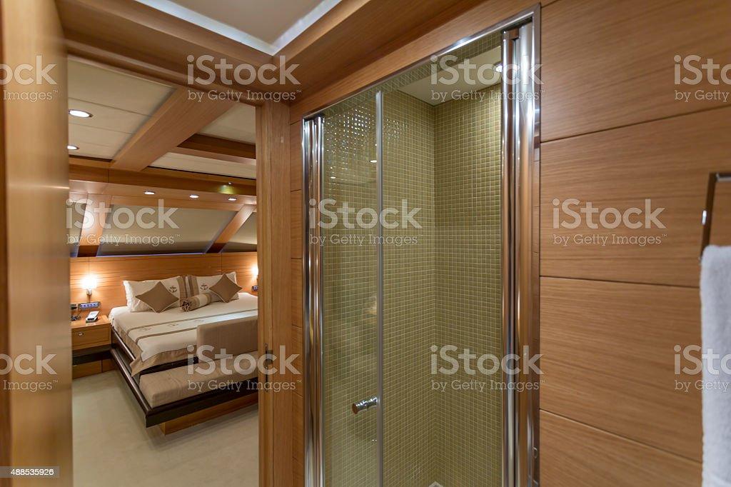 Yacht di lusso interni yacht cabina fotografie stock e for Interni lusso