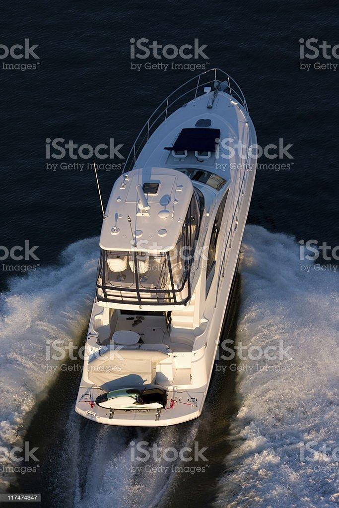 Luxury Yacht royalty-free stock photo