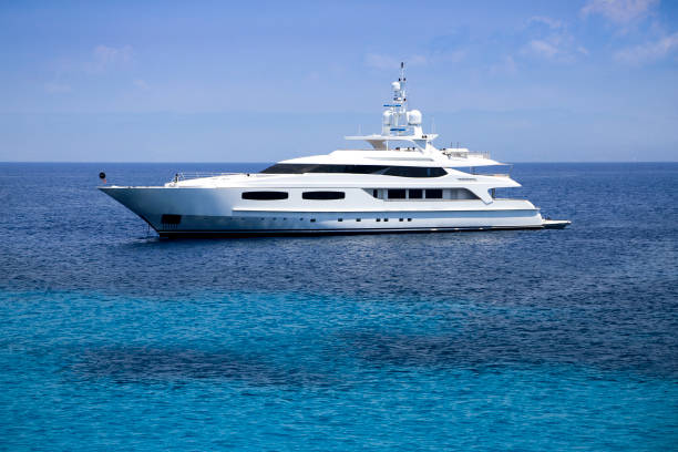 luxury yacht - segelyacht stock-fotos und bilder