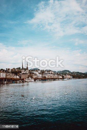 Luzern Lake In Switzerland