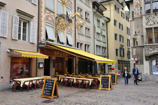 Luzern Old Town Stock Photo - Download Image Now
