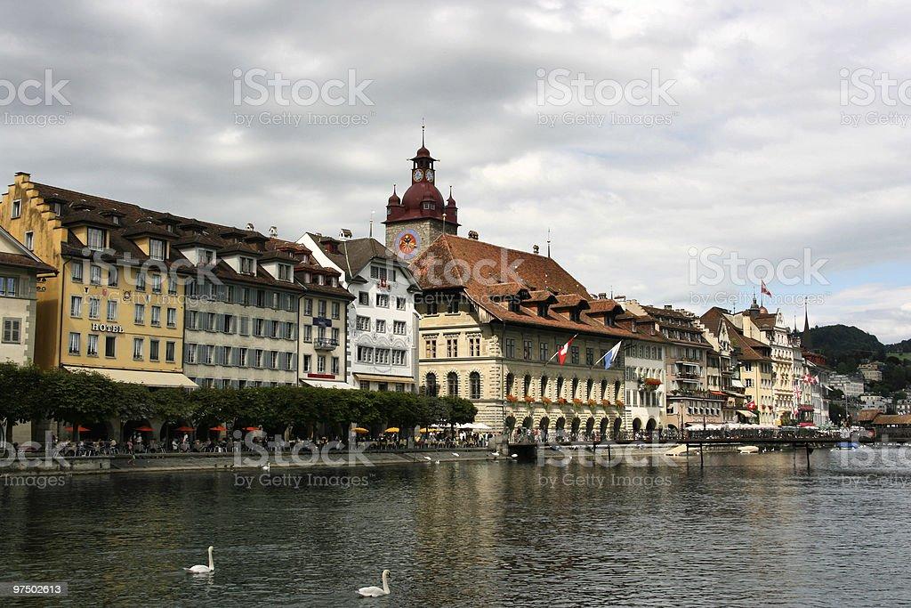 Luzern royalty-free stock photo