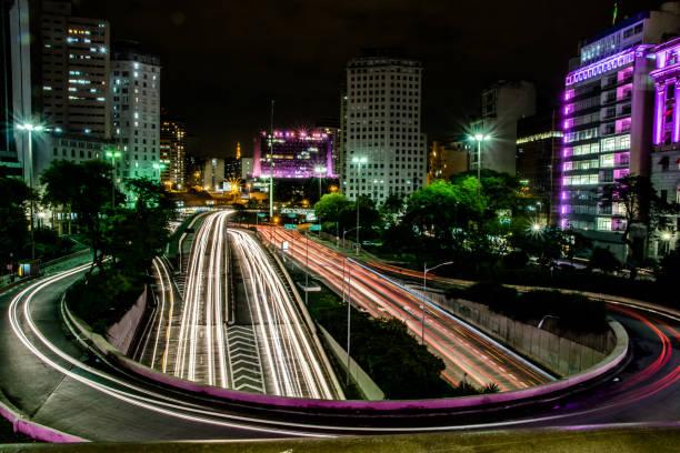 luzes da cidade - são paulo - fotografias e filmes do acervo