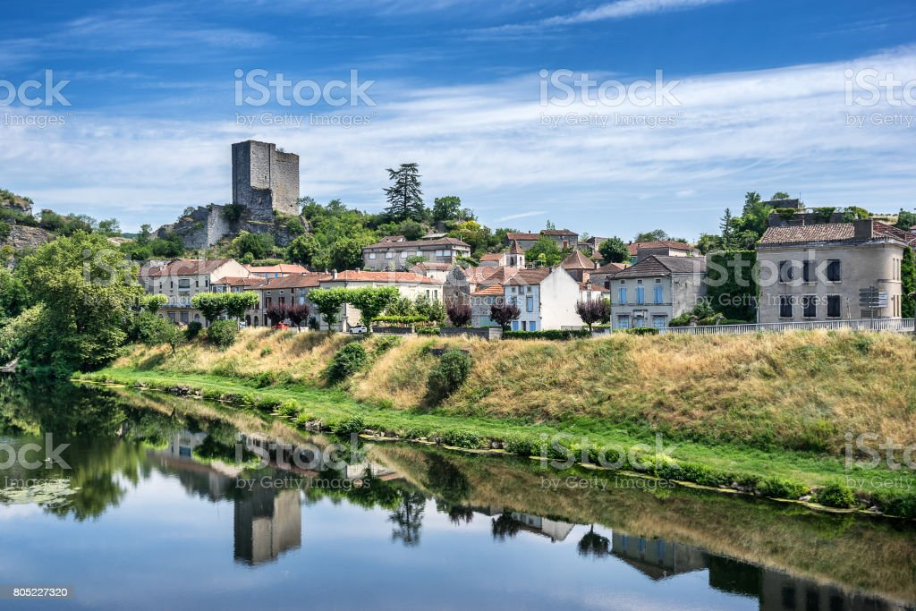 Luzech stock photo