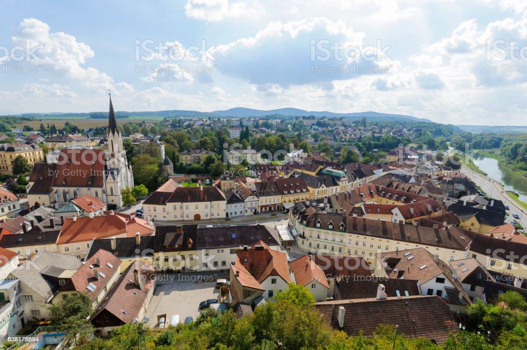 Lviv city in Ukraine stock photo
