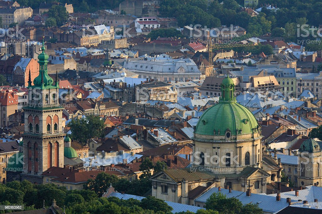 Lviv stock photo