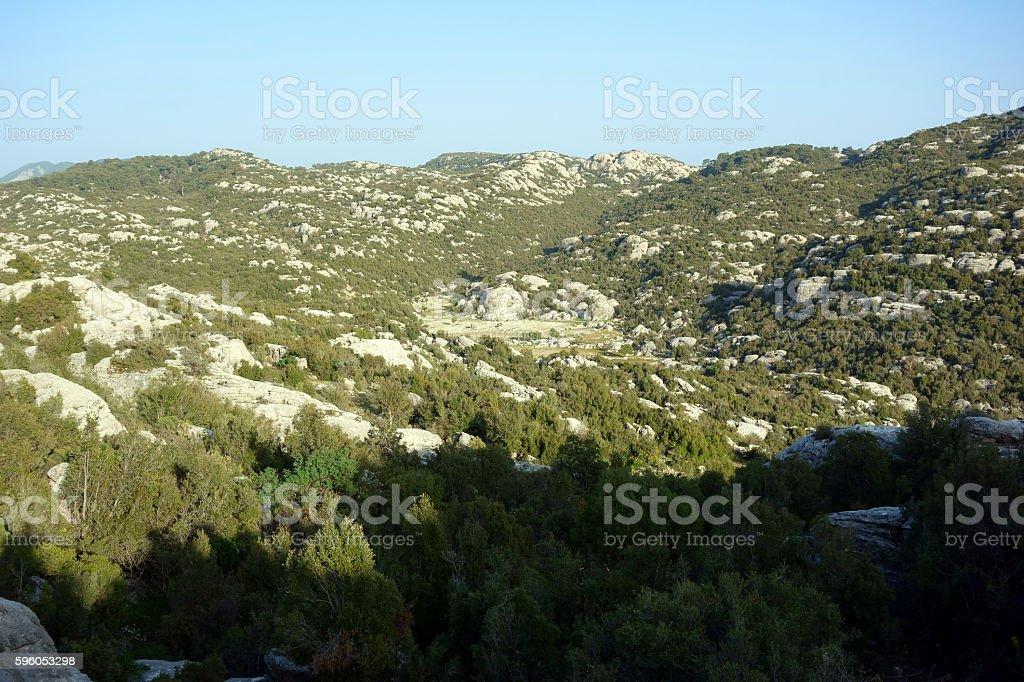 Lycian countryside, Turkey royalty-free stock photo