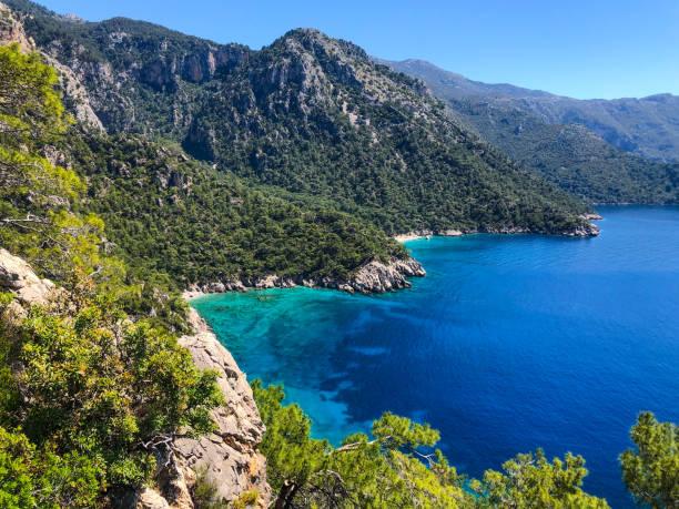 Lycian way. stock photo