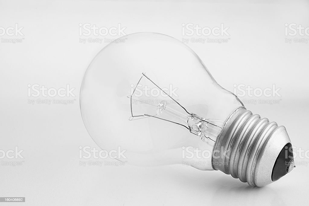 lying bulb royalty-free stock photo