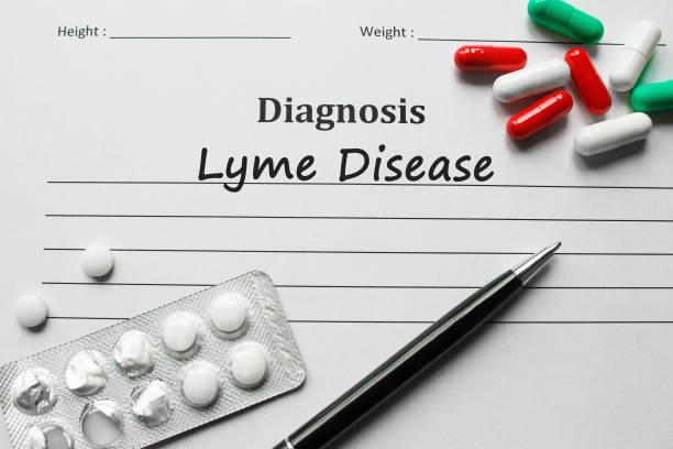 Lyme Desease auf der Diagnose-Liste, medizinisches Konzept – Foto