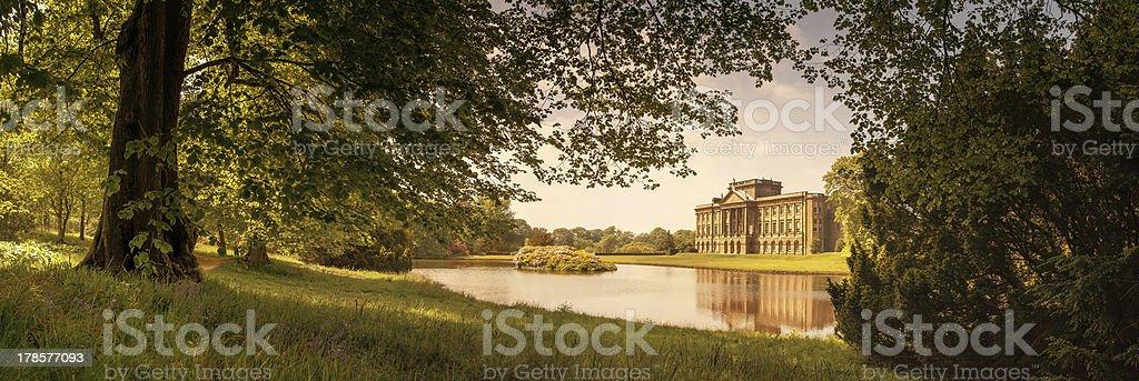 Lyme Hall, Cheshire royalty-free stock photo