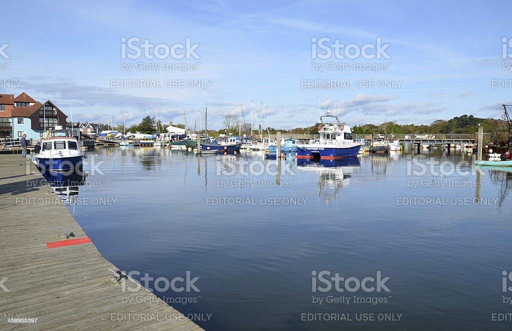 Lymington, Hampshire stock photo
