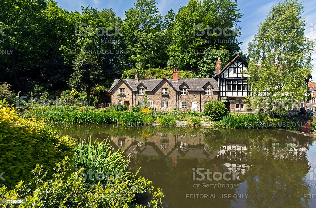 Lymm, Cheshire stock photo