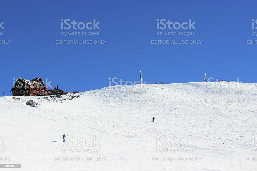 Lynch Refuge - Top of Andes * Patagonia royalty-free stock photo