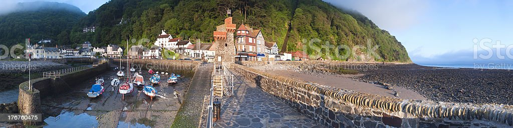 Lynmouth, North Devon. stock photo