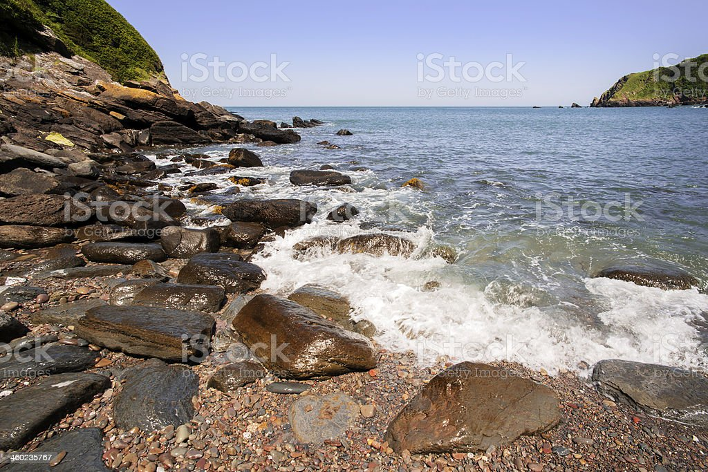 lynmouth royalty-free stock photo