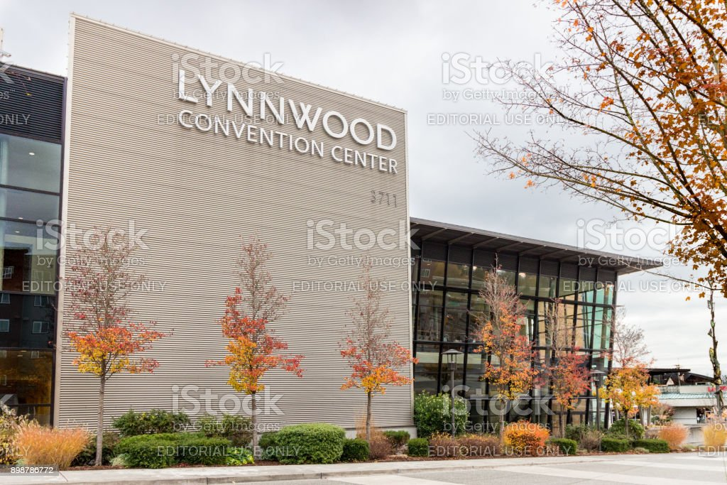 Lynnwood Convention Center Exterior stock photo